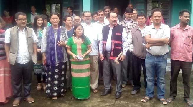 Parliamentary Secretary Agriculture, Tatung Jamoh Visited East Siang District