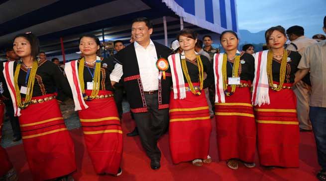 CM Pema Khandu Appeals for working together as Team Arunachal