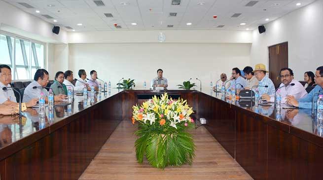 Khandu Interacts with Bureaucrats