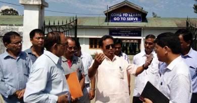 Education minister visits GHS School Chongkham