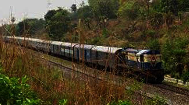Kanchanjungha Express linking Agartala with Sealdah started