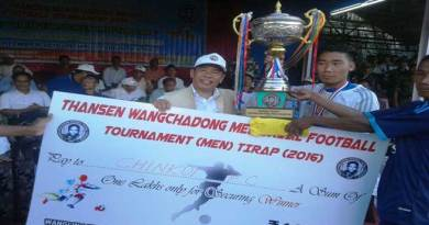 TWM Football Tournament- Chinkoi FC beat Deomali FC