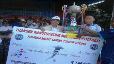 Photo of TWM Football Tournament- Chinkoi FC beat Deomali FC