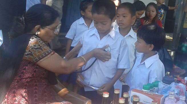 Arunchal Vikash Parishad organized Free Medical Camp