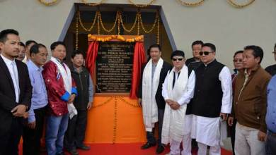 Khandu Dedicates new ADC Building to the people of Kalaktang