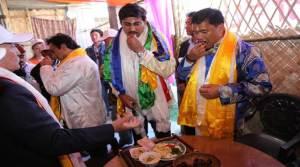 Rajyavardhan, Adnan Sami Attends Buddha Mahotsava 2016