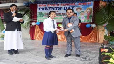 Parents Day Celebrated at Don Bosco School, Kheti