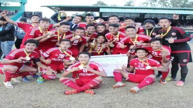 Shillong Lajong FC Are Meghalaya Invitation Football Tournament Champions 2016