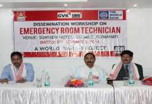 Photo of GVK EMRI Organised Workshop on Emergency Room Technician