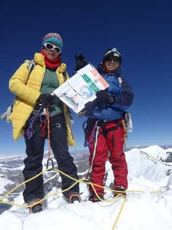 Anshu Jamsenpa felicitated- Mountain peak proposed to be named after Anshu