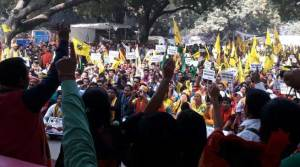 Bodos stages Dharna in Jantar Mantar demanding Bodoland State