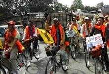 Photo of ABSU Organises Cycle and Torch Rallies for Bodoland
