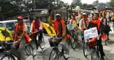 ABSU Organises Cycle and Torch Rallies for Bodoland