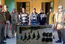 Photo of ADF Cadres Nabbed, Arms recovered
