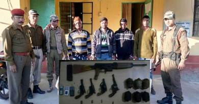 ADF Cadres Nabbed, Arms recovered