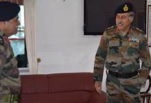 Photo of Lt Gen DS Ahuja Goc 101 Area Visits Guwahati