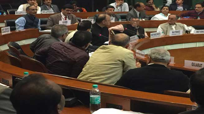 Dy CM Chowna Mein attended the 7th GST council meeting