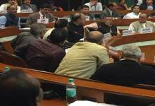 Photo of Dy CM Chowna Mein attended the 7th GST council meeting