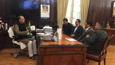 Photo of Chief Minister Pema Khandu meets Arun Jaitley