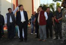 Photo of Khandu inspects ongoing works on NIT and Govt Law College in Jote