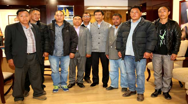 Khandu ensure the welfare and development of BRO labourers working in Arunachal