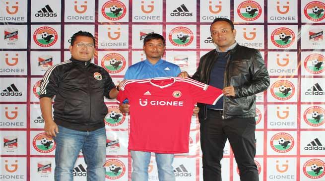 Shillong Lajong FC Signs Rocus Lamare