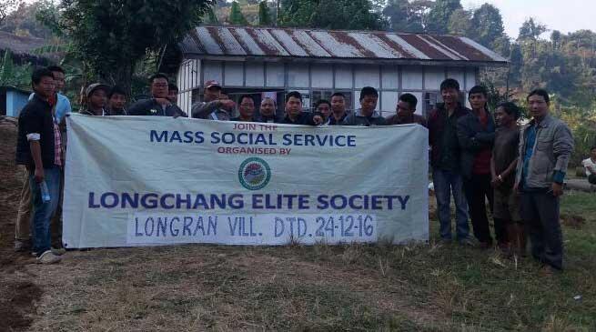 Longchang Elite Society Conduct Swach Bharat Abhiyan