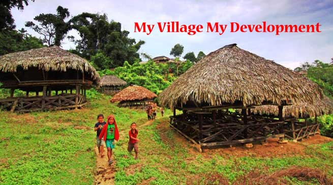 Brainstorming Session for My Village My Development
