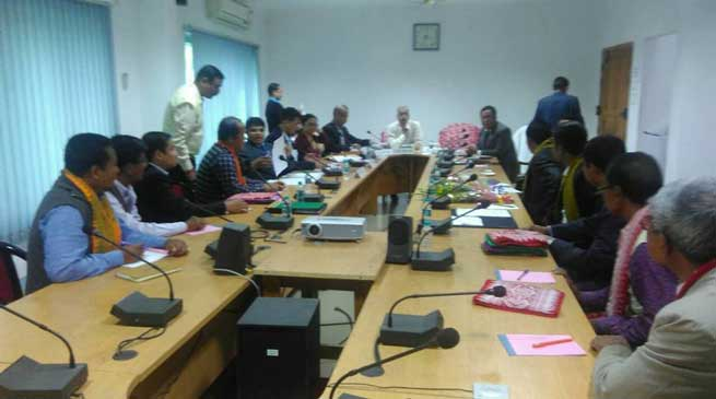 Bodoland separate state issue discussed in Tripartite Talk