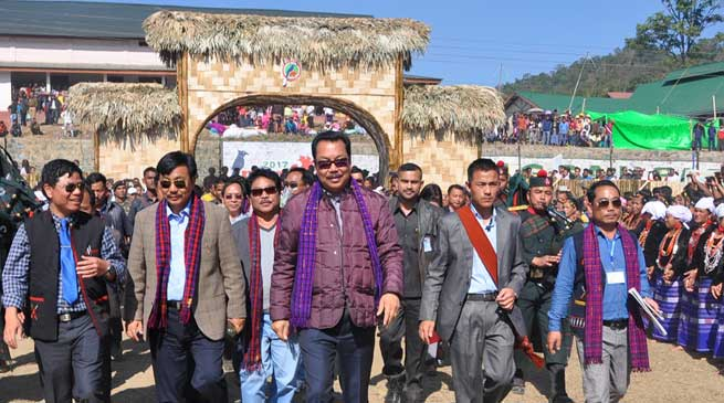 Pangsau Pass Winter Festival will Encourage International Trade- Chowna Mein