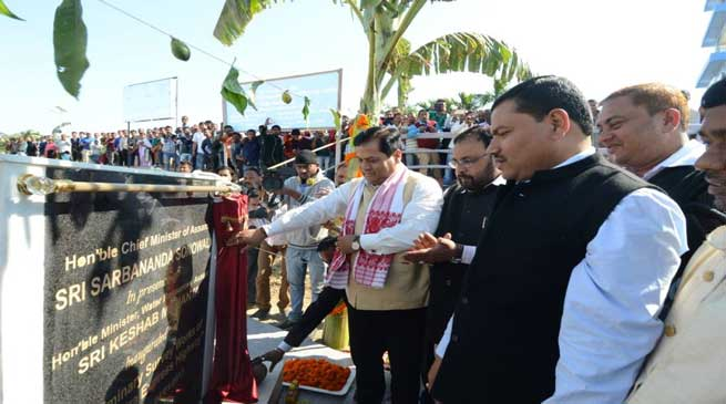 Sonowal launches Survey Work of Brahmaputra Express Highway