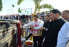 Photo of Sonowal launches Survey Work of Brahmaputra Express Highway