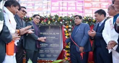 Gadkari inaugurates two Major Road Projects in Arunachal