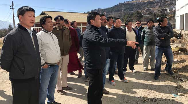 Tawang- Pema Khandu visits Yidga Choisin Gonpa