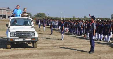 Namsai- 68th Republic Day celebrated, Chowna Mein unfurled the National Flag