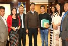 Photo of AAPWU Called on Pema Khandu