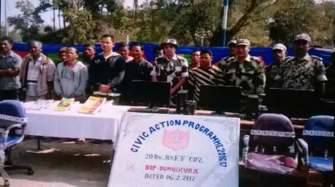 BSF Organises Civic Action Programme