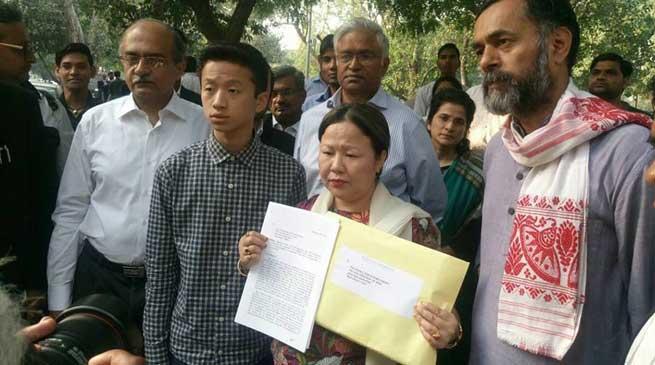 Dangwimsai Pul meets VP, seeks SIT to probe Kalikho Pul's allegations