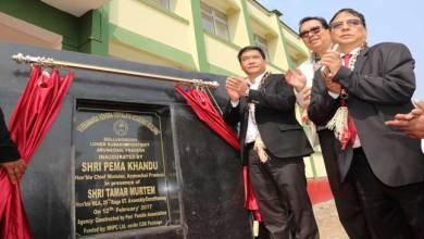 Photo of Pema Khandu and Chowna Mein inaugurates VKV School Buildings