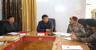 Tawang- Khandu holds review meeting with Army on land acquisition