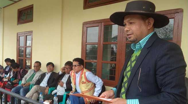 Kaling Moyong Inaugurates Drug Addict Rehabilitation Center