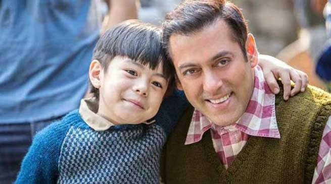 Salman Khan introduces Tubelight co-star Matin Rey from Arunachal