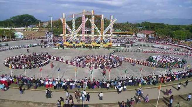 Bordumsa-Singpho's Festival Shapawng Yawng Concludes