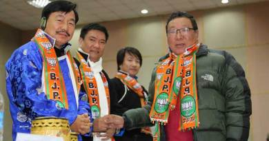 Panchayat Leaders from Tawang district join BJP