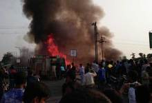 Photo of Photo Story- Huge Fire Breaks out in Dibrugarh