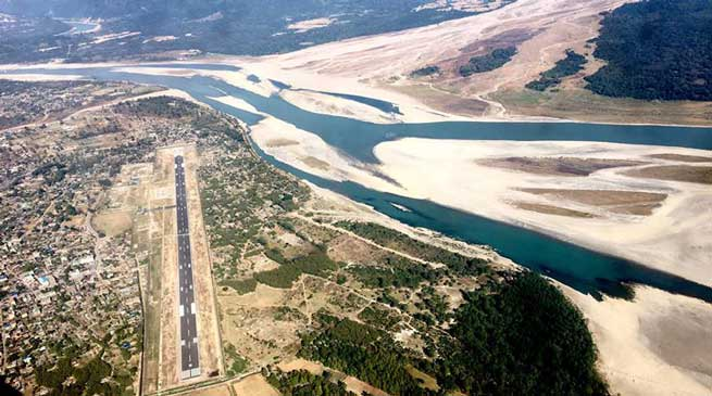 Commercial flights service from Pasighat ALG may soon
