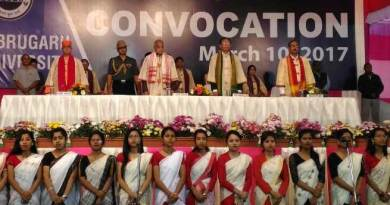 16th Convocation of Dibrugarh University begins