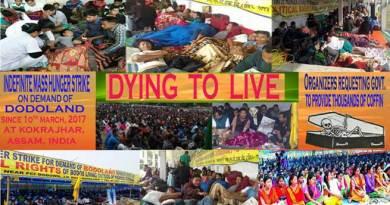 Kokrajhar- ABSU Indefinite Hunger strike enter 4th day