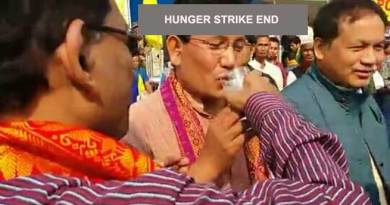 Kokrajhar- ABSU called off the indefinite hunger strike