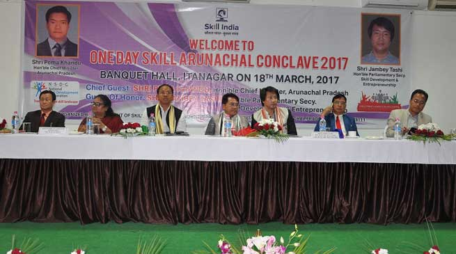 Skill Arunachal Conclave cum exhibition Concludes